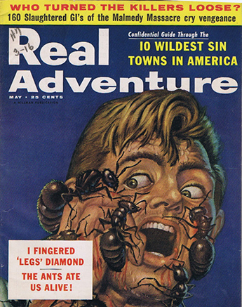 Real Adventure Magazine May 1956